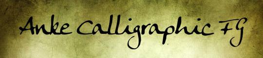 Anke Calligraphic FG