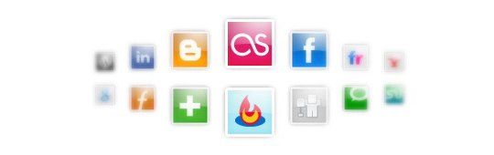 social bookmark icon