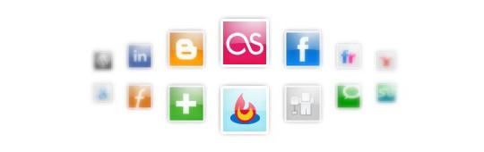 social bookmark icon