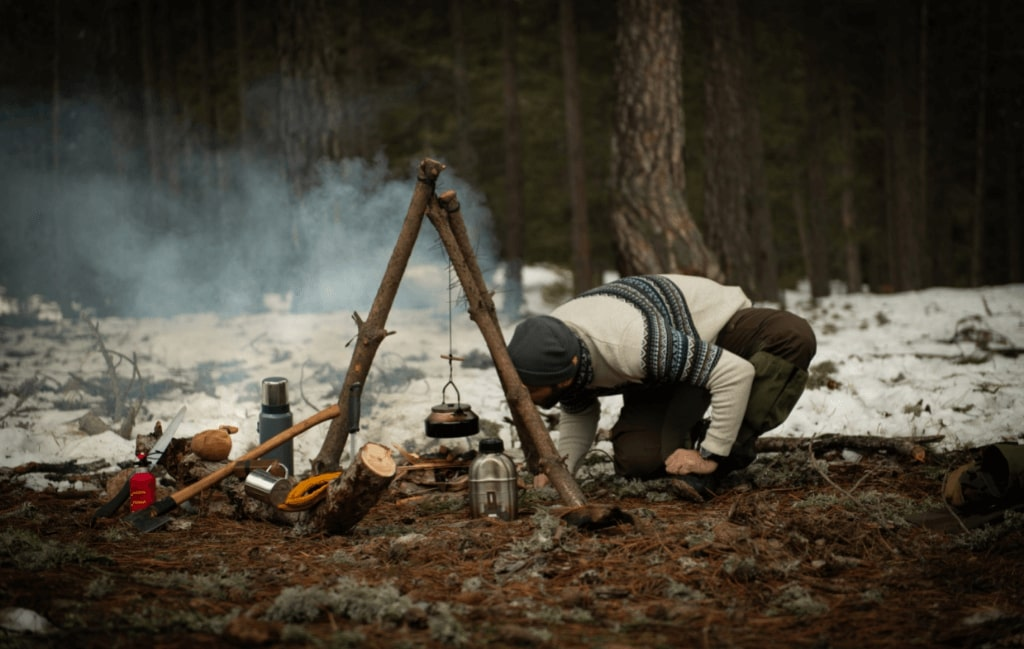 Bushcraft carving projects