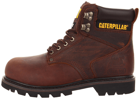 Caterpillar Men's Steel Toe Work Boot (most comfortable steel toe boots for men)