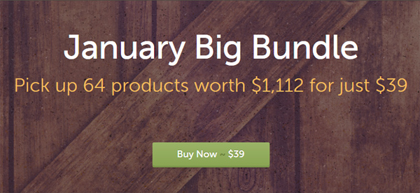 January Big Bundle By Creative Market