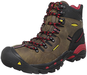 KEEN Men's Pittsburgh Steel Toe Work Boot (best steel toe boots for comfort )