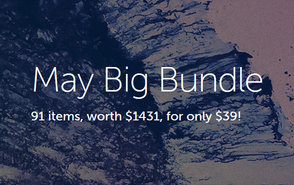 May Big Bundle - Creative Market Deals