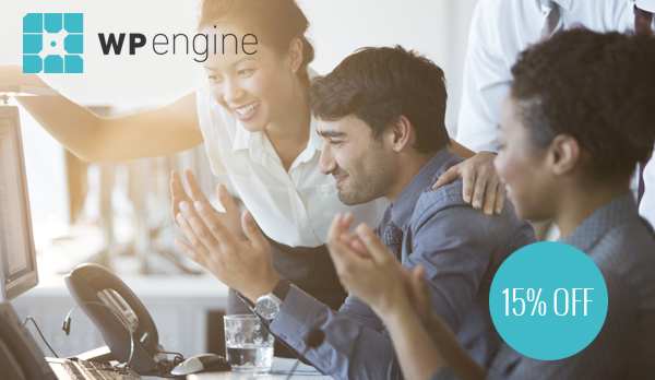 WP Engine Annual Subscription - 15% OFF Coupon