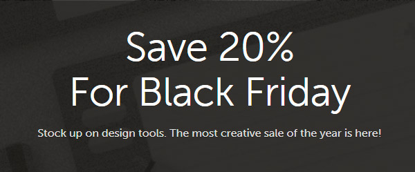 Creative Market Black Friday Sale!2015